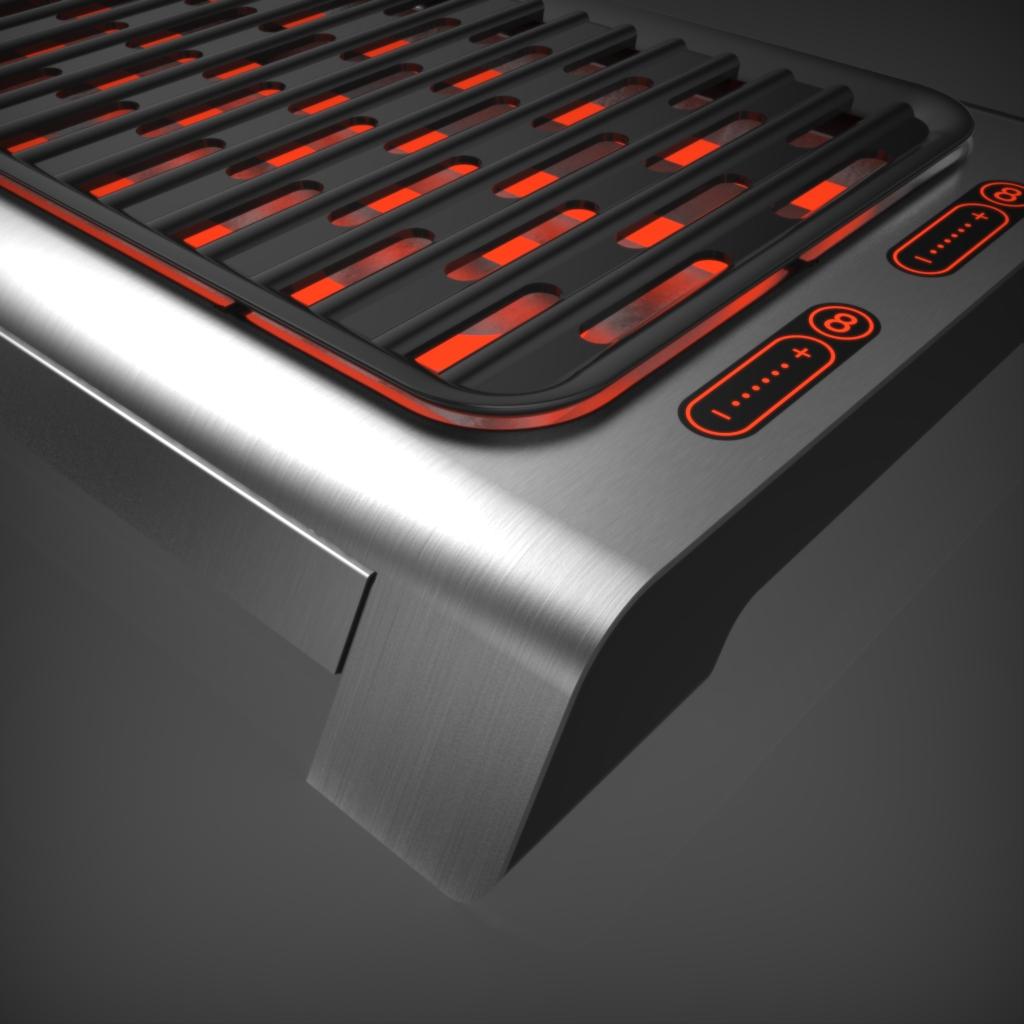 Pferdeputzbox werk m produktdesign for Tischgrill design