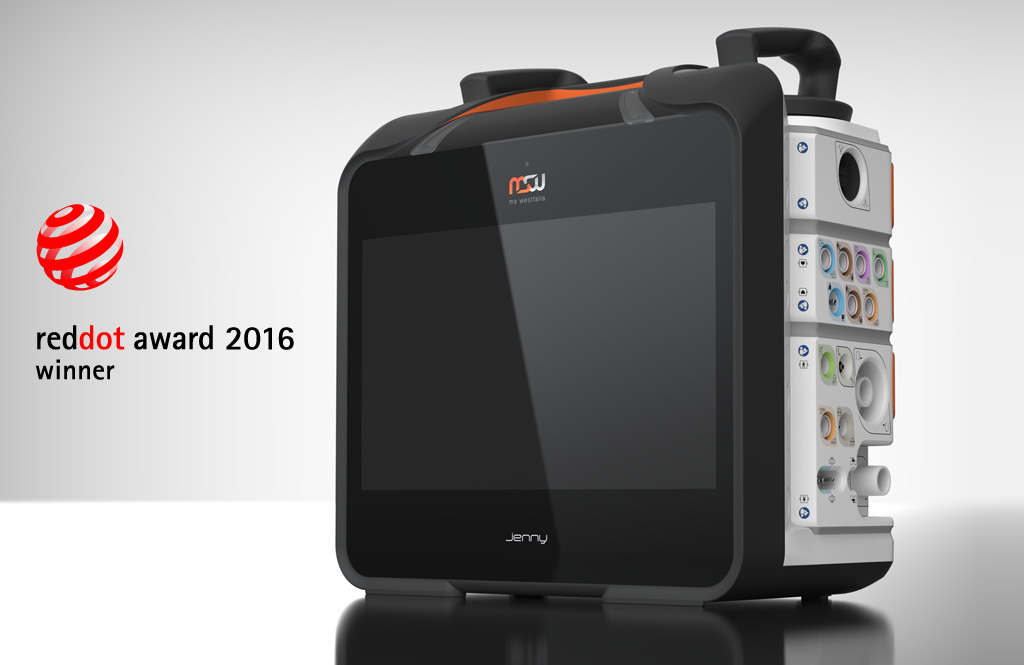 "Prize-winning Design Quality: ""Jenny"" Triumphs In Red Dot Award: Product Design 2016"