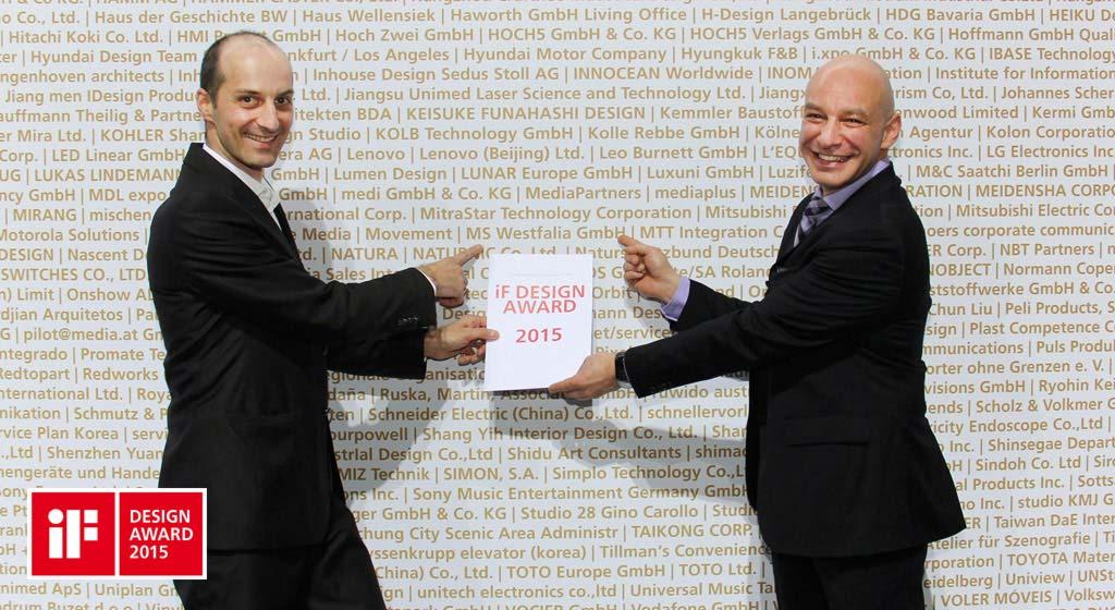 WERK|m Ist Preisträger Des IF DESIGN AWARD 2015